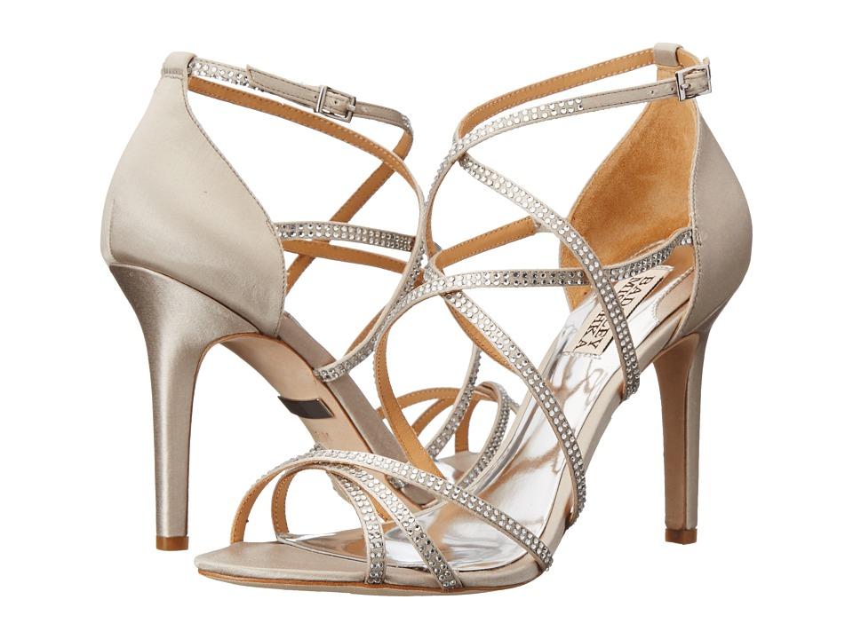 Badgley Mischka - Meghan (Silver Satin) High Heels