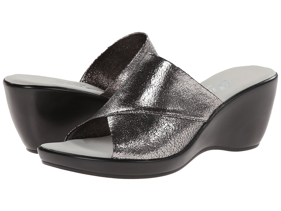 Onex - Deena (Pewter Krinkle) Women's Wedge Shoes