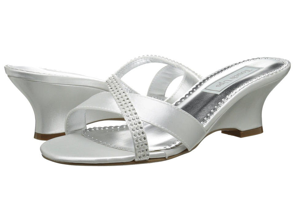 Touch Ups - Flair (White) Women's Wedge Shoes