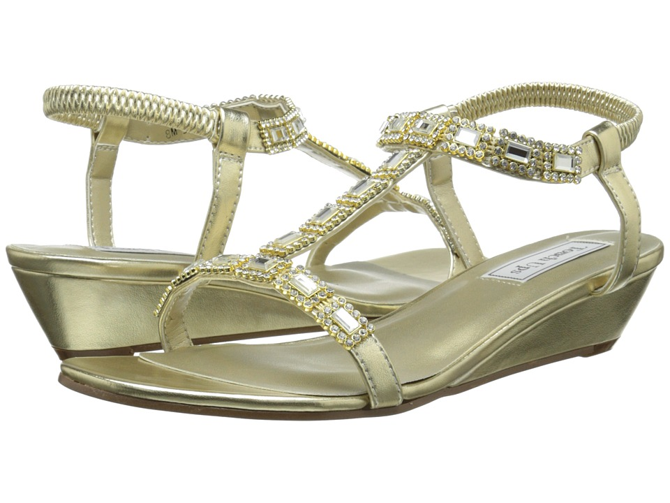Touch Ups - Jazz (Gold) Women's Dress Sandals