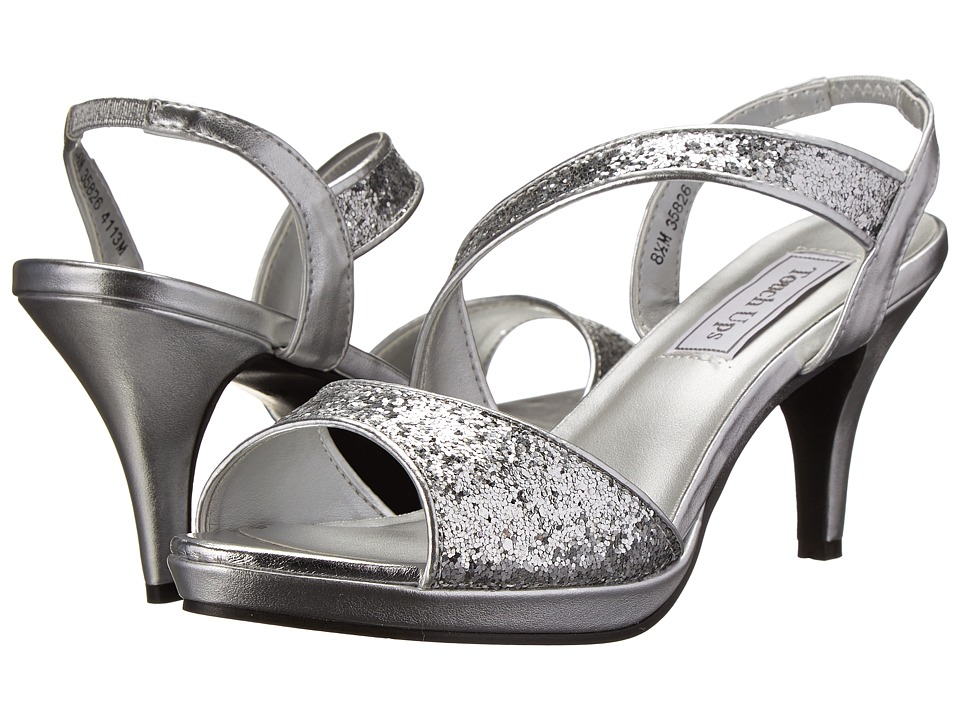 Touch Ups - Reagan (Silver) Women's Dress Sandals