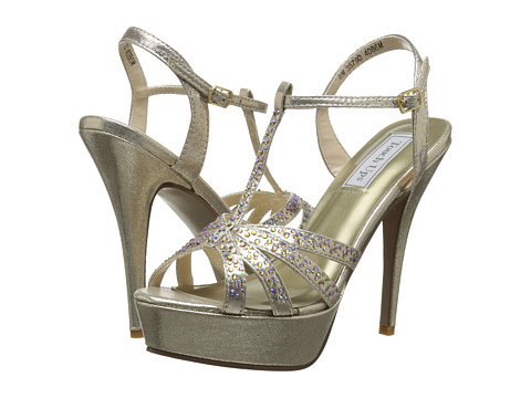Touch Ups - April (Champagne) Women's Dress Sandals