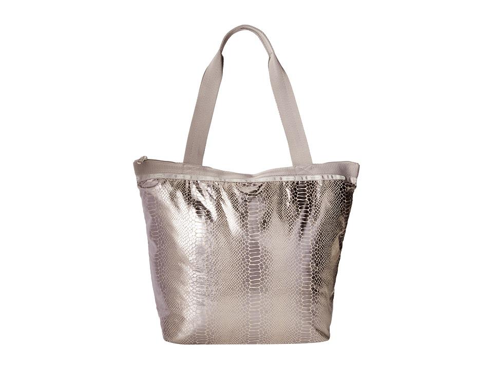 LeSportsac - Hailey Tote (Magnetic Snake) Tote Handbags