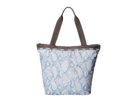 LeSportsac - Hailey Tote (Aqua Snake) Tote Handbags