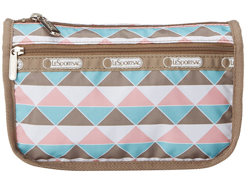 LeSportsac - Travel Cosmetic (Pink Pyramid) Cosmetic Case