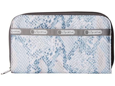 LeSportsac - Lily (Aqua Snake) Checkbook Wallet