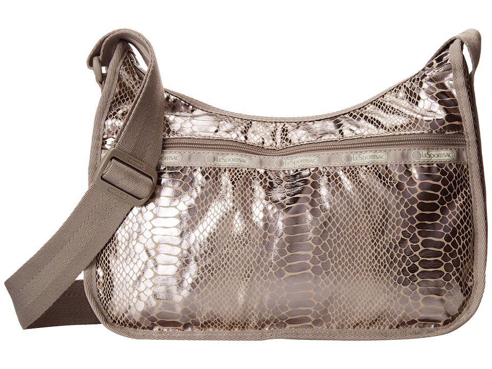 LeSportsac - Classic Hobo Bag (Magnetic Snake) Cross Body Handbags