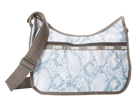 LeSportsac - Classic Hobo Bag (Aqua Snake) Cross Body Handbags