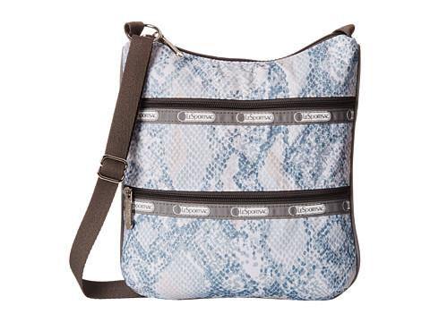 LeSportsac - Kylie (Aqua Snake) Handbags