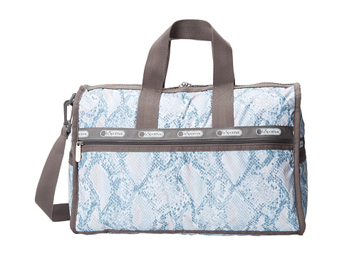 LeSportsac Luggage - Medium Weekender (Aqua Snake) Weekender/Overnight Luggage