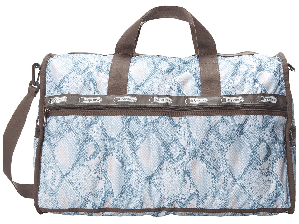 LeSportsac Luggage - Large Weekender (Aqua Snake) Duffel Bags