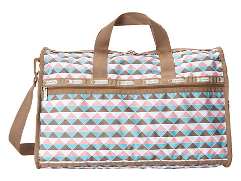 LeSportsac Luggage - Large Weekender (Pink Pyramid) Duffel Bags