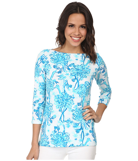 Lilly Pulitzer - Andie Top (Resort White Back It Up) Women's Clothing