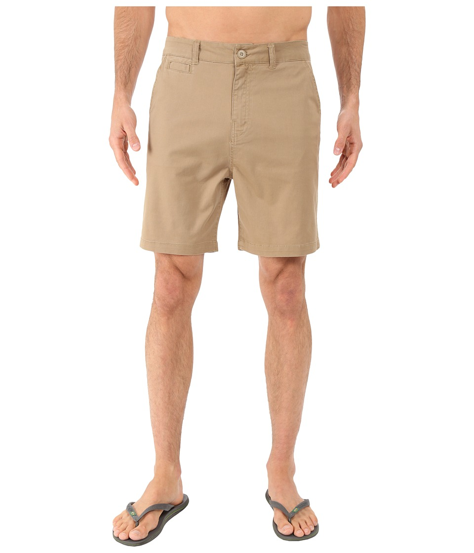 Body Glove - Super Ez Walkshort (Khaki) Men's Shorts