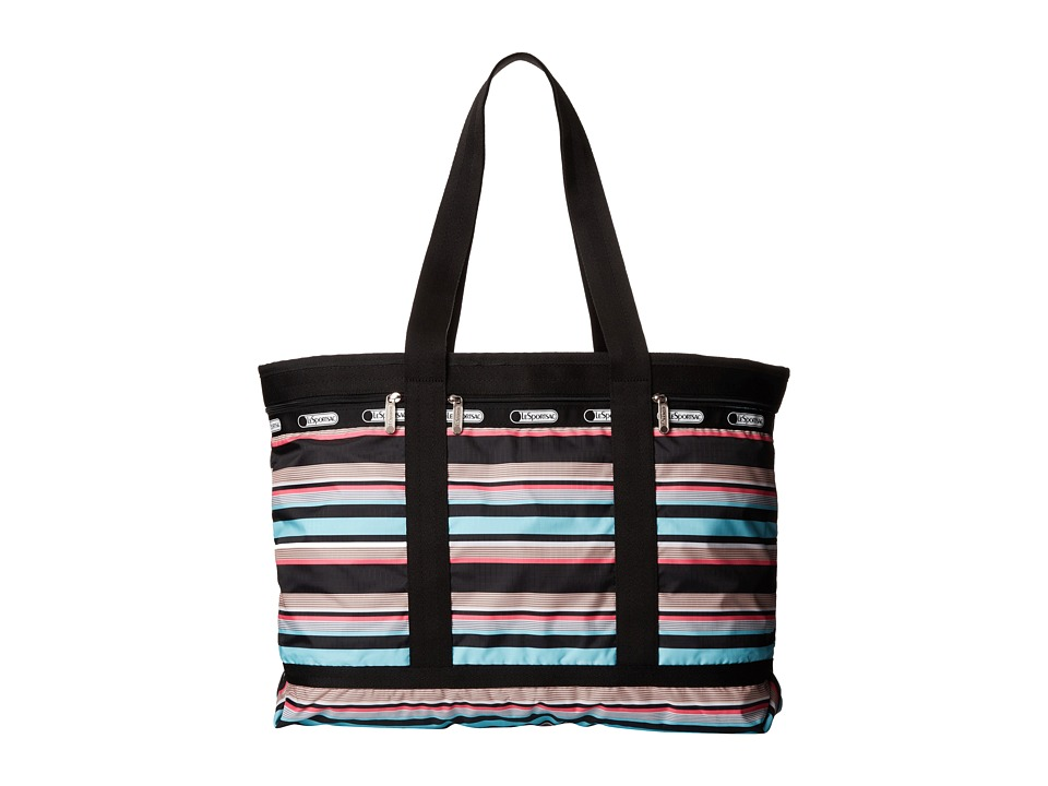 LeSportsac Luggage - Travel Tote (Tennis Stripe) Tote Handbags