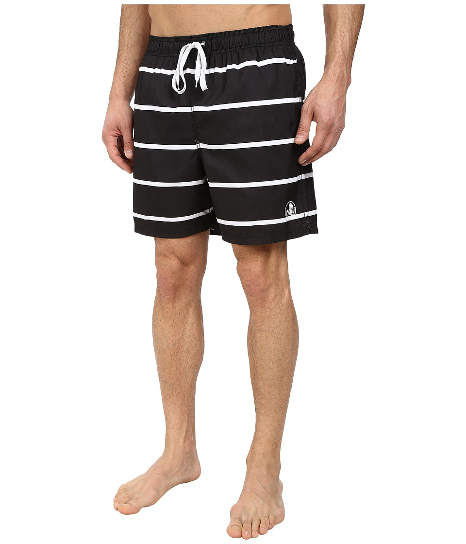 Body Glove - Linez Out Volleys (Black) Men's Swimwear