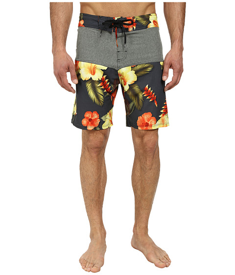 Body Glove - Vaporskin Tropical Inception (Charcoal) Men's Swimwear