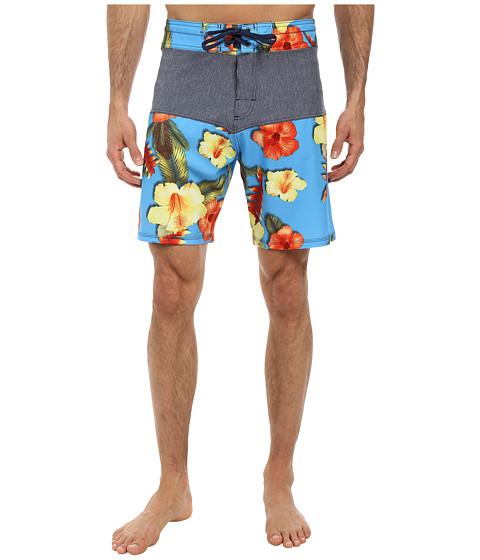 Body Glove - Vaporskin Tropical Inception (Blue) Men's Swimwear