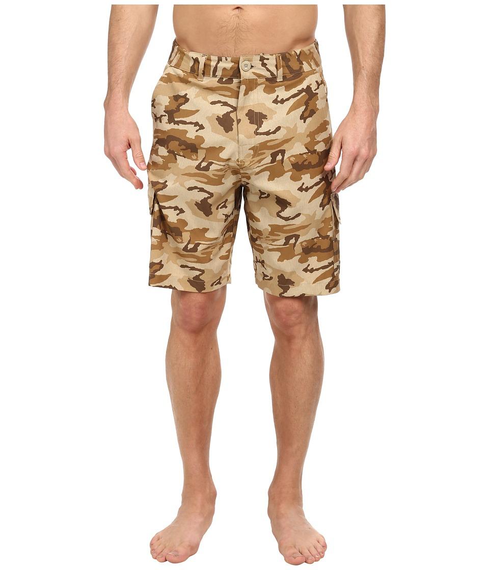 Body Glove - Amphibious West Side Short (Tan Heather) Men's Swimwear