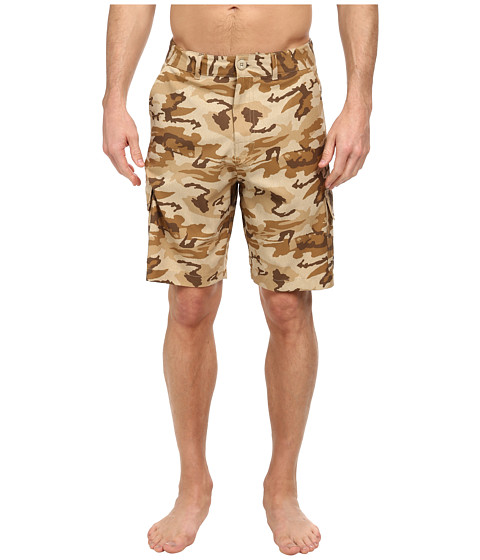 Body Glove - Amphibious West Side Short (Tan Heather) Men