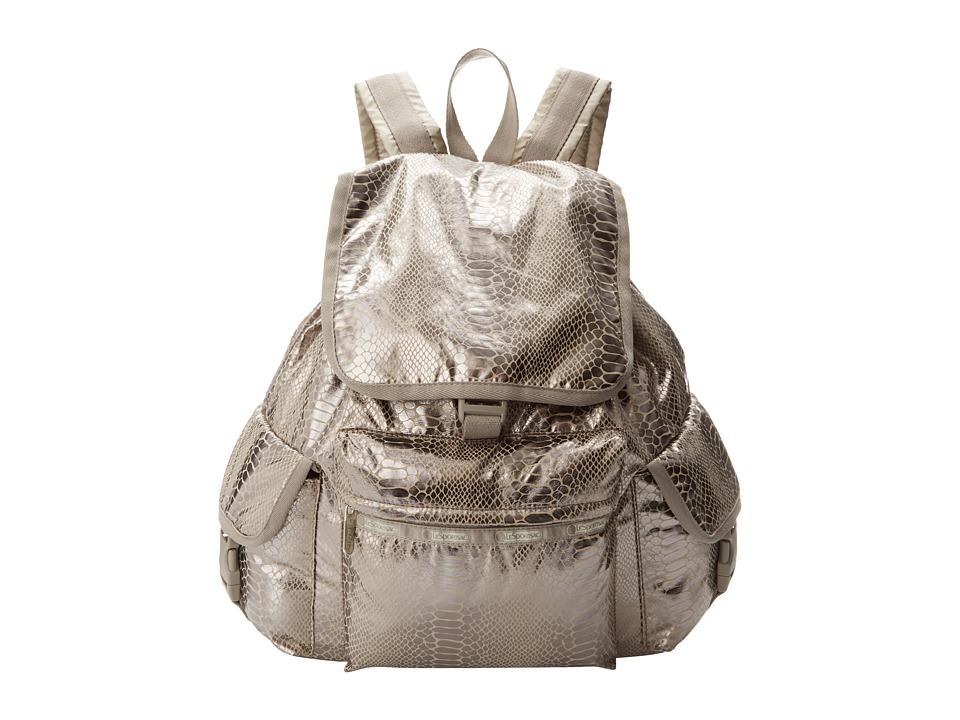 LeSportsac - Voyager Backpack (Magnetic Snake) Backpack Bags