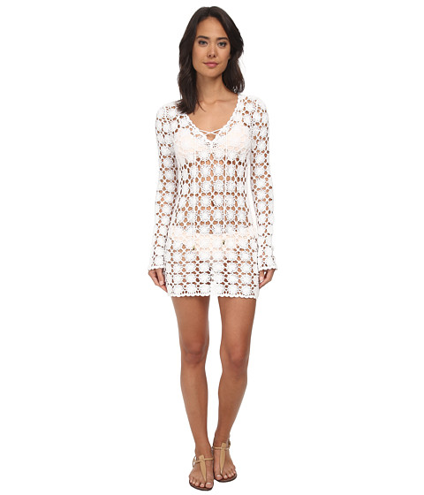 Lilly Pulitzer - Wayland Crochet Tunic (Resort White) Women's Blouse