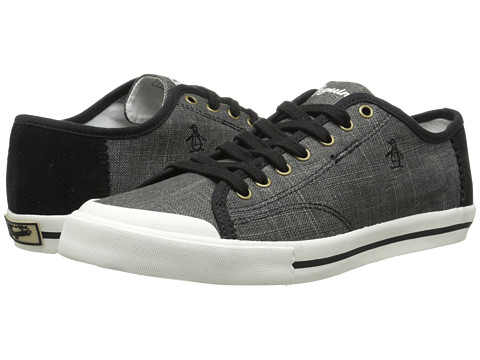 Original Penguin - Chiller (Black 1) Men's Lace up casual Shoes