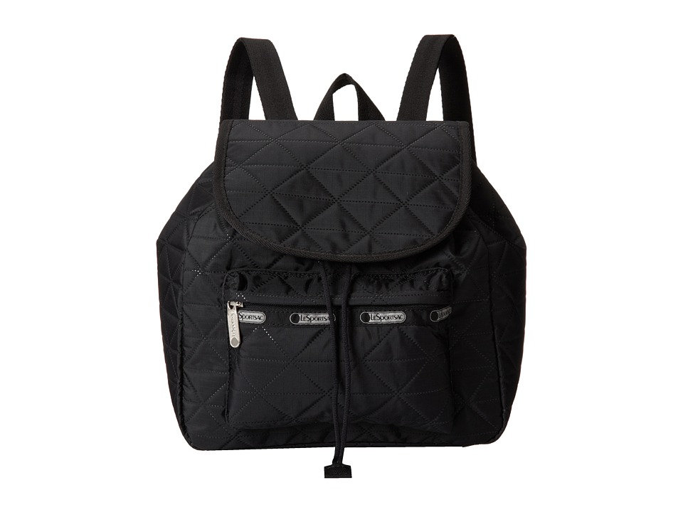 LeSportsac - Small Edie Backpack (Geodisic Debossing) Backpack Bags