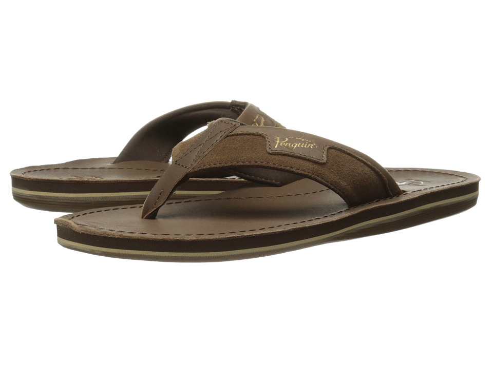 Original Penguin - PG Thong (Brown) Men's Sandals
