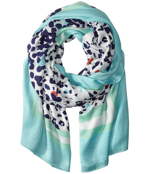 Lilly Pulitzer - Lillian Scarf (Bright Navy Get Spotted) Scarves