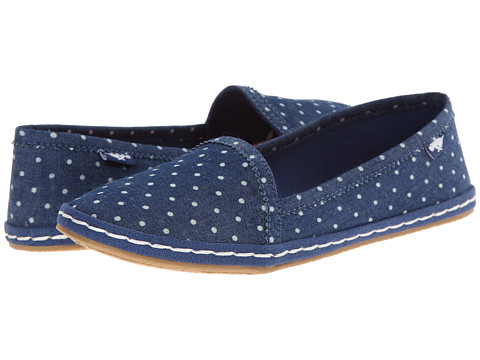 Rocket Dog - Wavey (Blue Pinmate) Women's Slip on Shoes