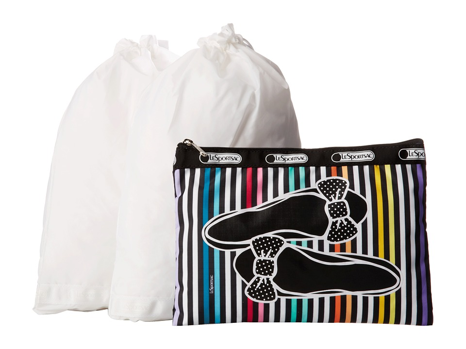 LeSportsac Luggage - Shoe Pouch Set (Lestripe Flats) Travel Pouch