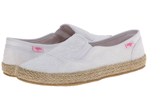 Rocket Dog - Canna (White Lucky Eyelet) Women's Slip on Shoes