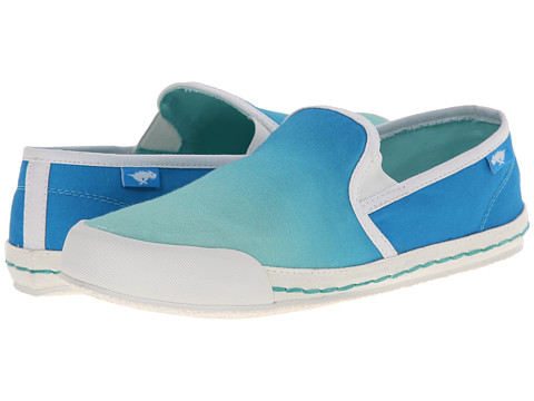 Rocket Dog - Scoop (Blue Fadeaway) Women's Slip on Shoes