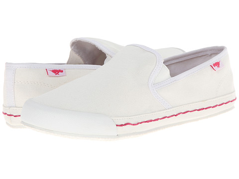 Rocket Dog - Scoop (White Sunny) Women's Slip on Shoes