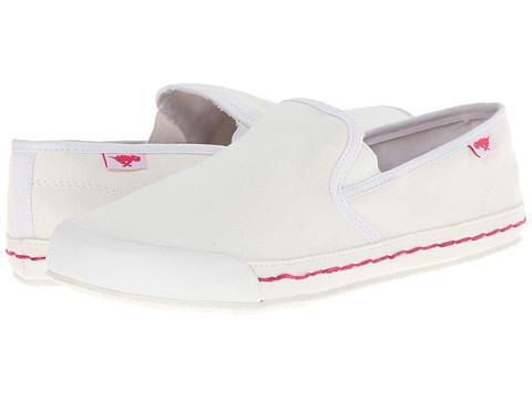 Rocket Dog - Scoop (White Sunny) Women's Slip on Shoes