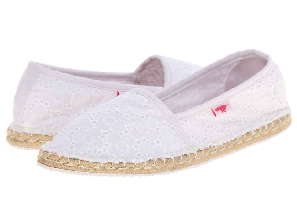 Rocket Dog - Temple (White Pretty Petal) Women's Slip on Shoes