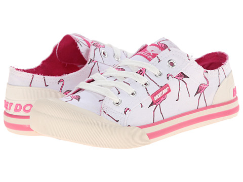 Rocket Dog - Jazzin (Pink Long Legs) Women's Lace up casual Shoes