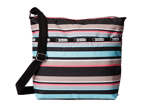 LeSportsac - Small Cleo Crossbody Hobo (Tennis Stripe) Cross Body Handbags