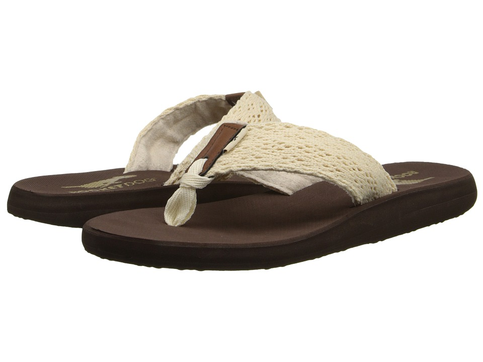 Rocket Dog - Nacho (Natural Lovely Crochet) Women's Sandals