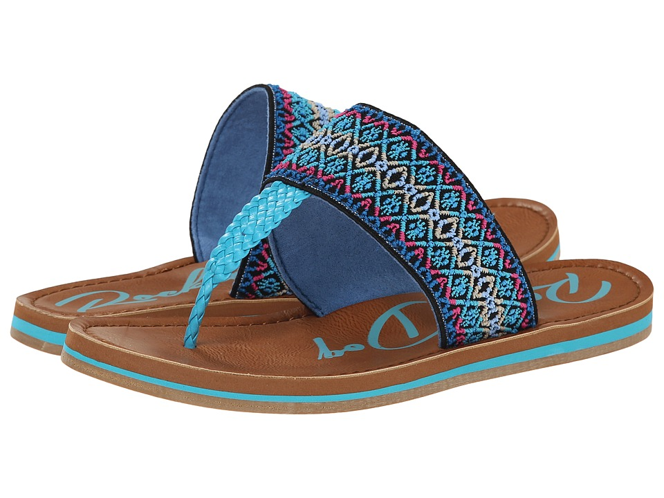 Rocket Dog - Peaches (Blue Summer Crush) Women's Sandals