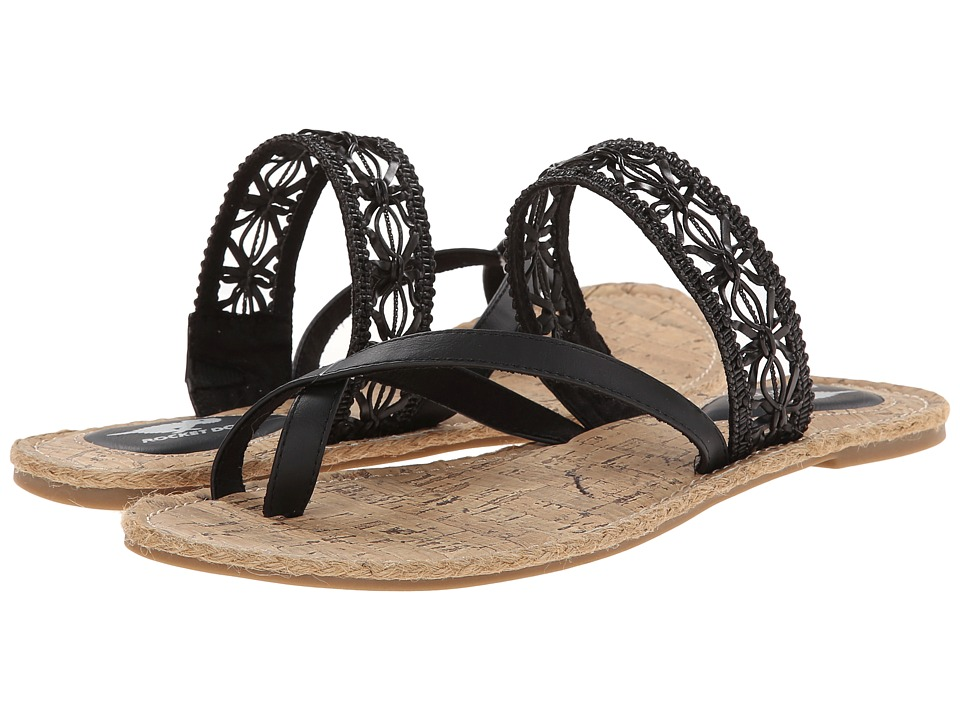 Rocket Dog - Felicia (Black Island Petal) Women's Sandals