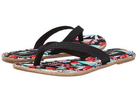 Rocket Dog - Finch (Black South Beach/Paradise) Women's Sandals