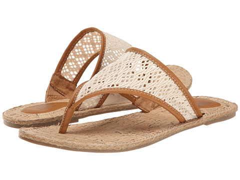 Rocket Dog - Fannie (Natural Lovely Crochet) Women's Sandals