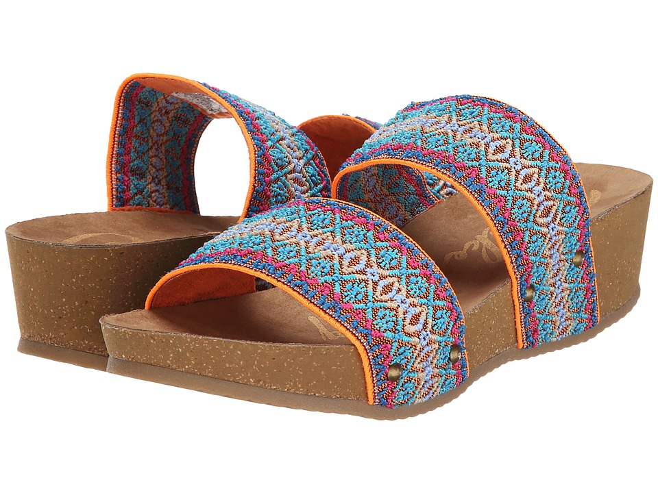 Rocket Dog - Ginnie (Melon Summer Crush Band) Women's Sandals