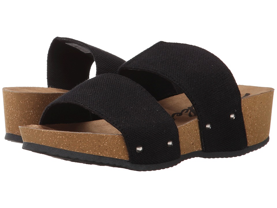 Rocket Dog - Ginnie (Black Sweatband Gore) Women's Sandals