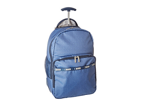 LeSportsac Luggage - Rolling Backpack (Dark Denim Pique TR) Backpack Bags