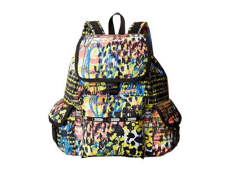 LeSportsac - Voyager Backpack (Blooming) Backpack Bags