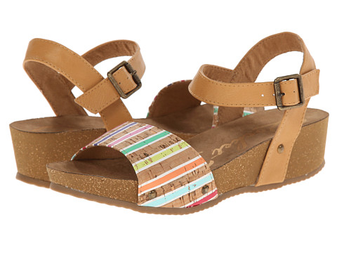 Rocket Dog - Gem (Pink Multi Corky) Women's Sandals