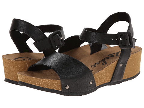 Rocket Dog - Gem (Black Santa Ana) Women's Sandals